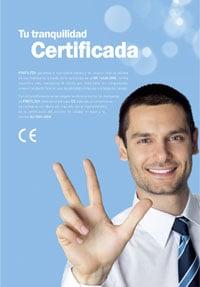 Mamparas Profiltek Garantía 5